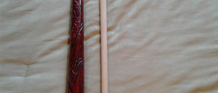 The Kane cue! The original 7's hustler cue. $75